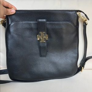 Tory Burch Black Leather Crossbody